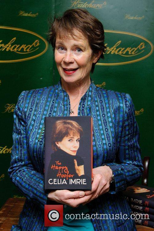 Celia Imrie  signs copies of her new...