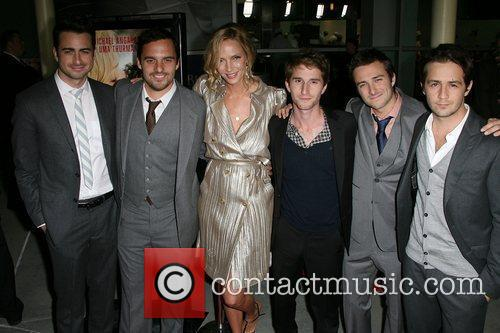 Jake M. Johnson, Michael Angarano and Uma Thurman 2
