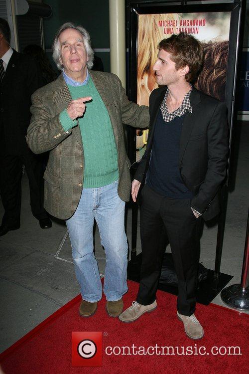 Henry Winkler with son Director Max Winkler Los...