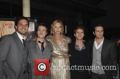 Jake M. Johnson, Michael Angarano and Uma Thurman 7