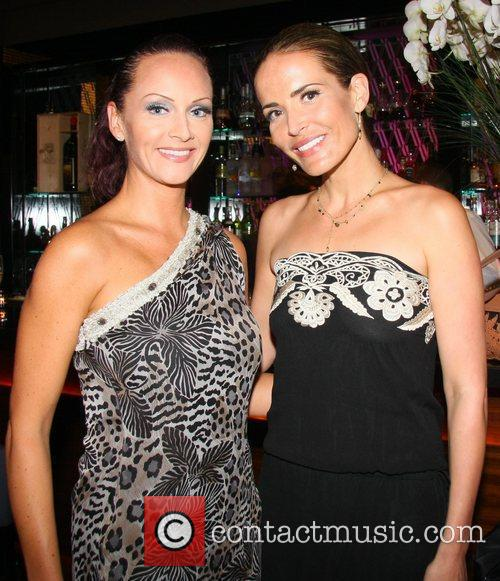 Chelsey Baker and Sophie Anderton  Cetuem Cosmetics...
