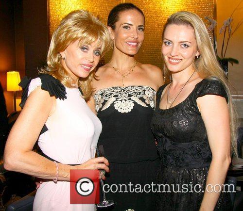 Sally Farmiloe-Neville, Sophie Anderton and Lana Holloway Cetuem...