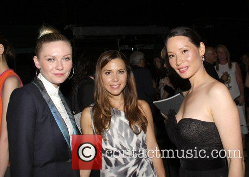 Kirsten Dunst, Lucy Liu, Monique Huillier and Cfda Fashion Awards