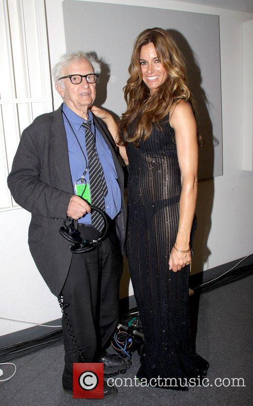 Albert Maysles and Kelly Bensimon