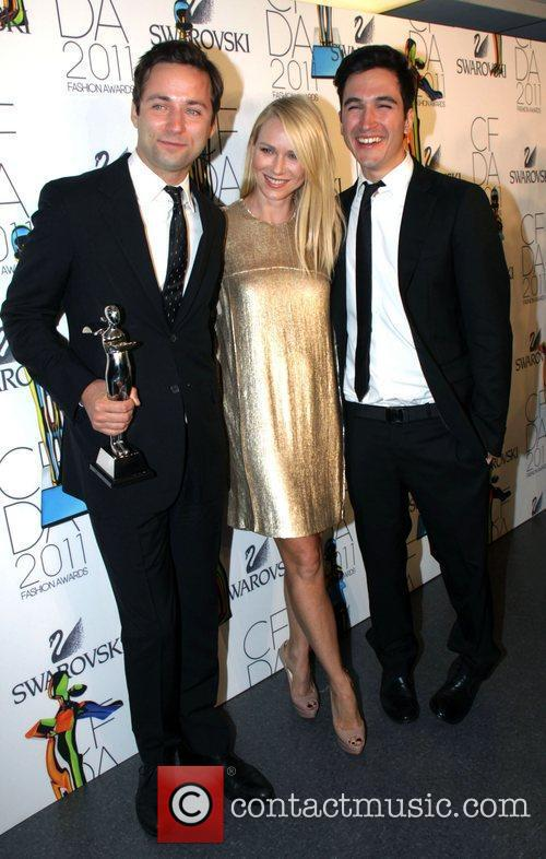 Jack Mccollough, Lazaro Hernandez, Naomi Watts and Cfda Fashion Awards 2