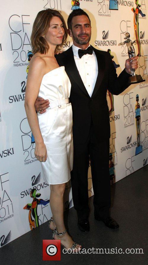 Sofia Coppola, Marc Jacobs and Cfda Fashion Awards 3