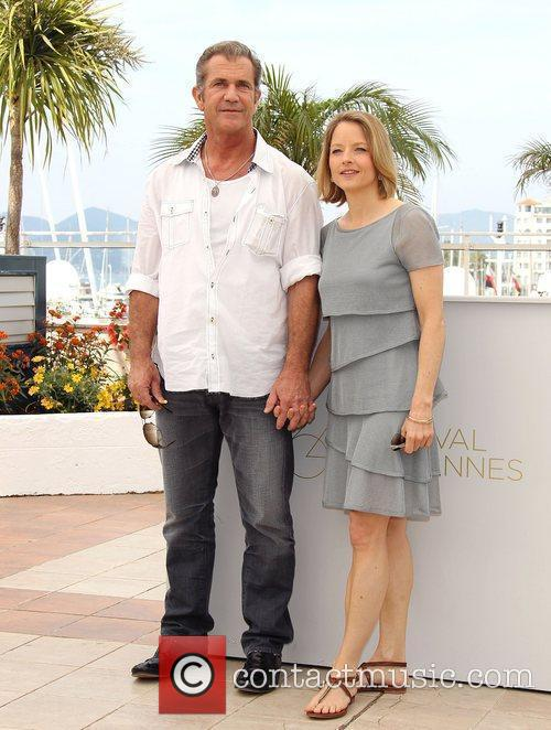 Mel Gibson and Jodie Foster, Cannes 2011