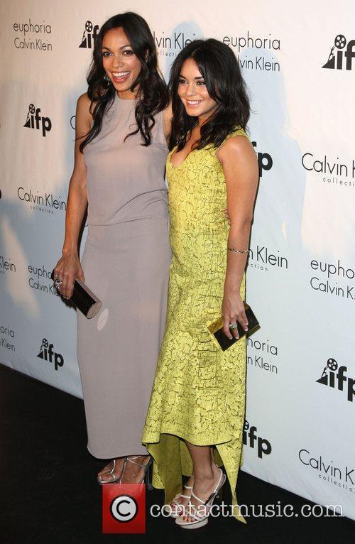 Rosario Dawson and Vanessa Hudgens 2