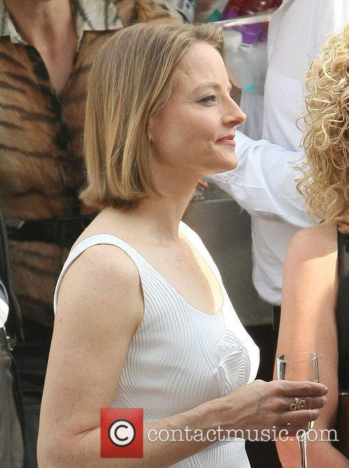 Jodie Foster at a party during the 2011...