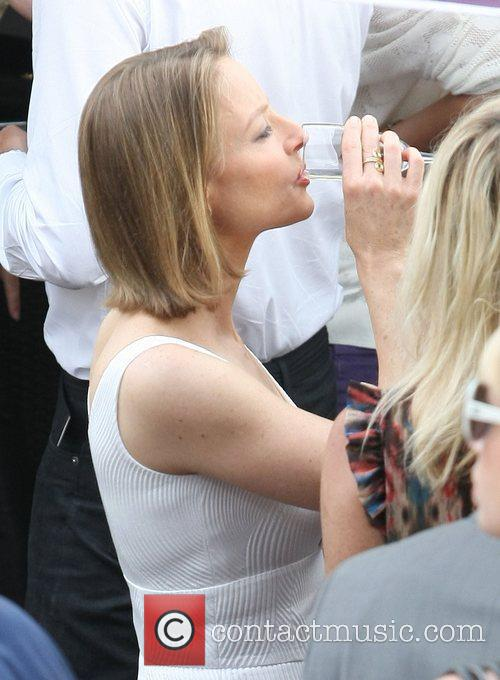 Jodie Foster at Le Grand Journal during the...