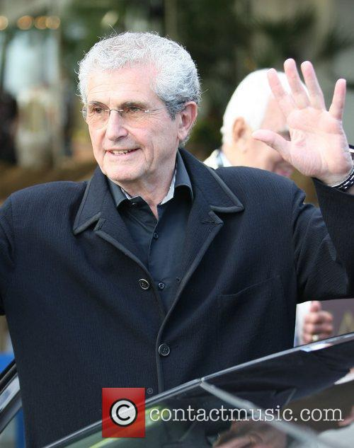 Claude Lelouche Celebrities during the 2011 Cannes International...