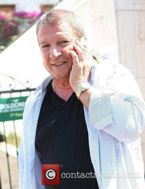 Rolland Courbis Celebrities out and about in Cannes...