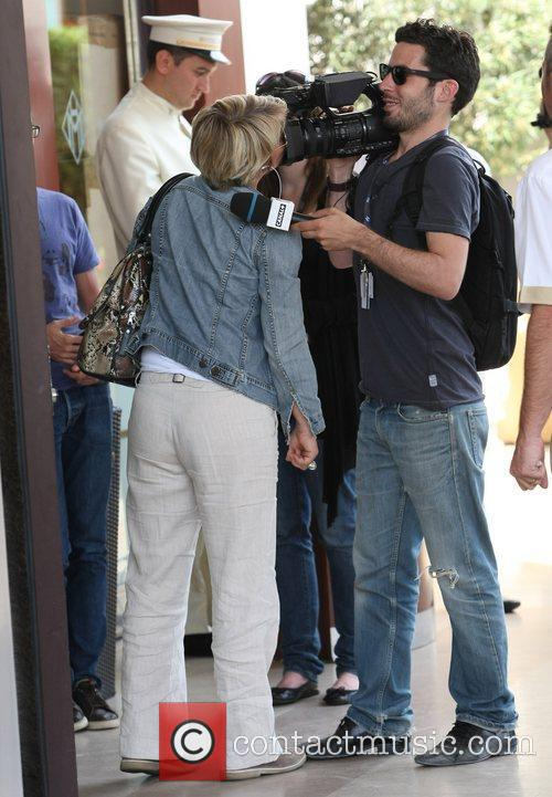 Mariane Massonet, Mathieu Maillet Celebrities out and about...