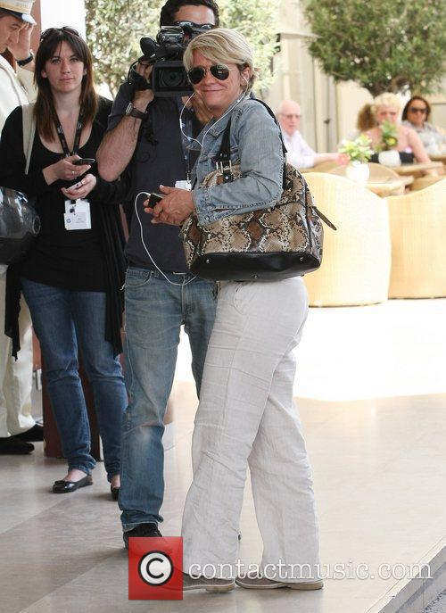 Mariane Massonet Celebrities out and about in Cannes...