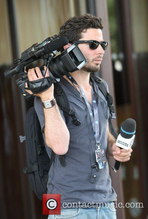 Mathieu Maillet Celebrities out and about in Cannes...