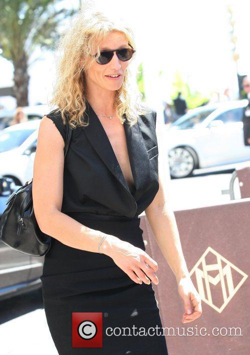 Alexandra Lamine  Celebrities leaving the Martinez hotel...