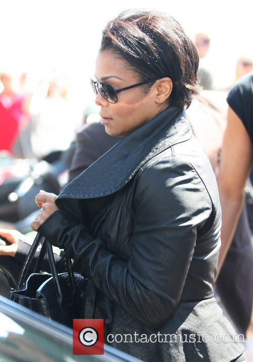 Janet Jackson out and about during the 2011...