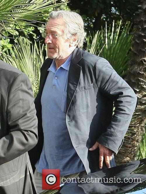 Robert De Niro Celebrities at the Martinez hotel...