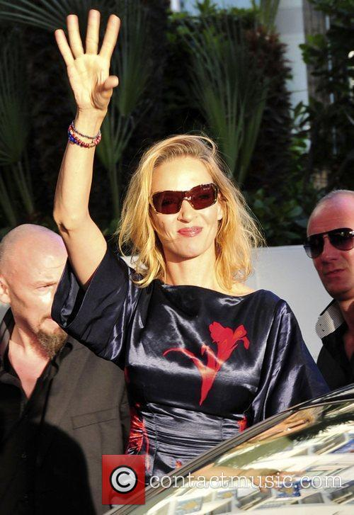 Celebrities at the Martinez hotel in Cannes