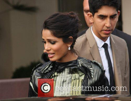 Freida Pinto and Dev Patel 4