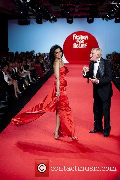 Wilnelia Forsyth, Bruce Forsyth  2011 Cannes International...