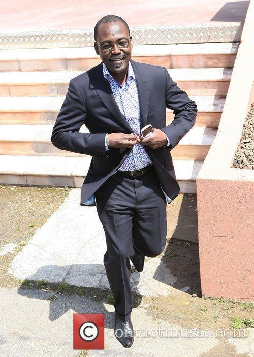 Mahamat-Saleh Haroun 2011 Cannes International Film Festival -...