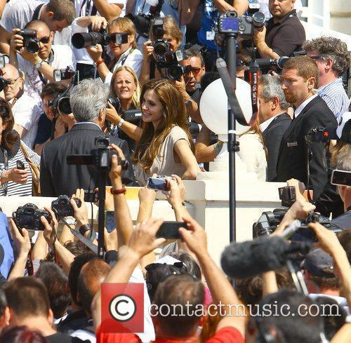 Dustin Hoffman and Angelina Jolie 2011 Cannes International...