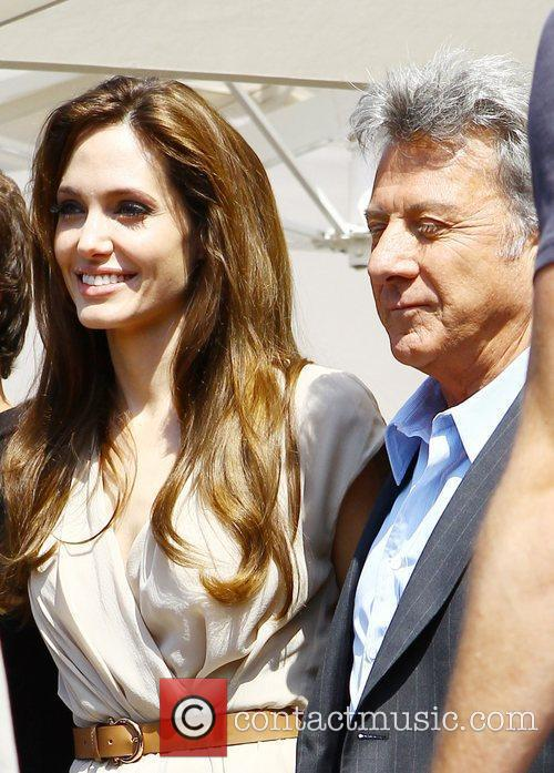 Angelina Jolie and Dustin Hoffman  2011 Cannes...