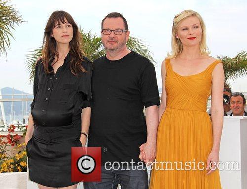 Charlotte Gainsbourg, Lars Von Trier and Kirsten Dunst...