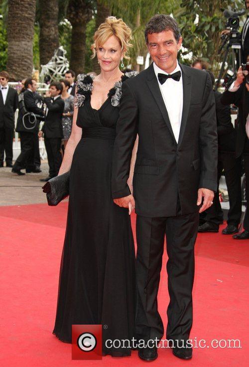 Antonio Banderas and Melanie Griffith 2011 Cannes International...