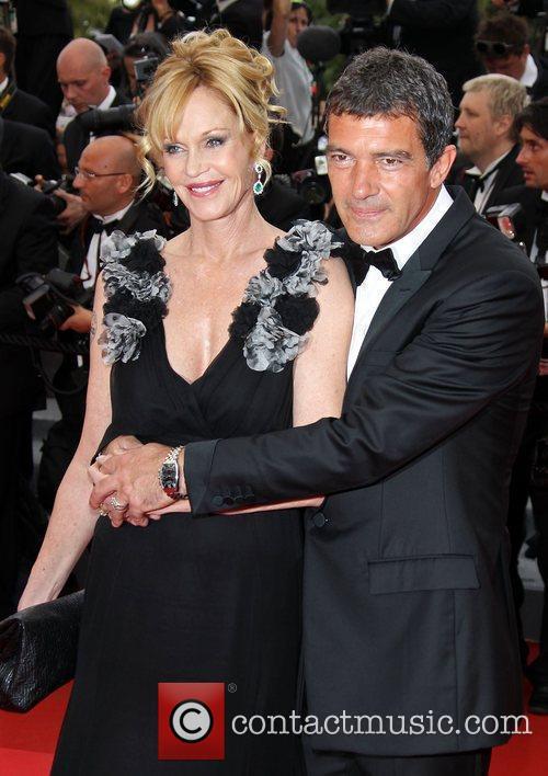 Melanie Griffith and Antonio Banderas  2011 Cannes...