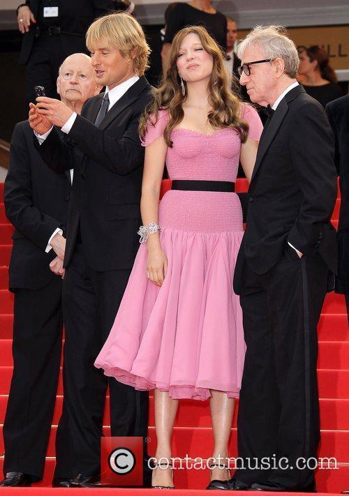 Owen Wilson, Lea Seydoux and Woody Allen...