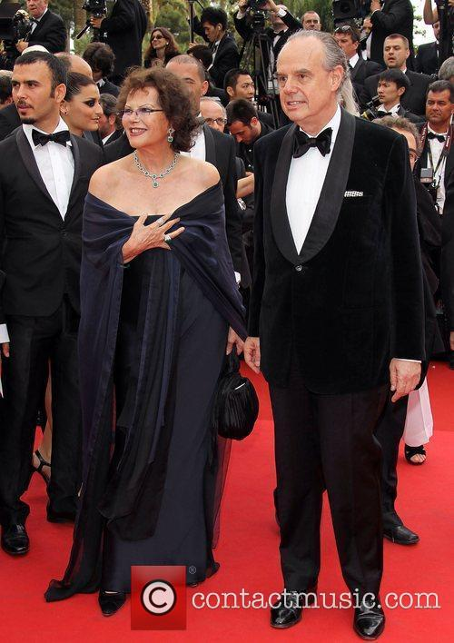 Claudia Cardinale and Frederic Mitterrand   2011...
