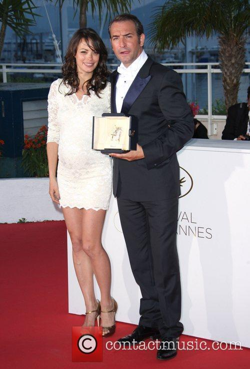 Berenice Bejo and Jean Dujardin 2011 Cannes International...