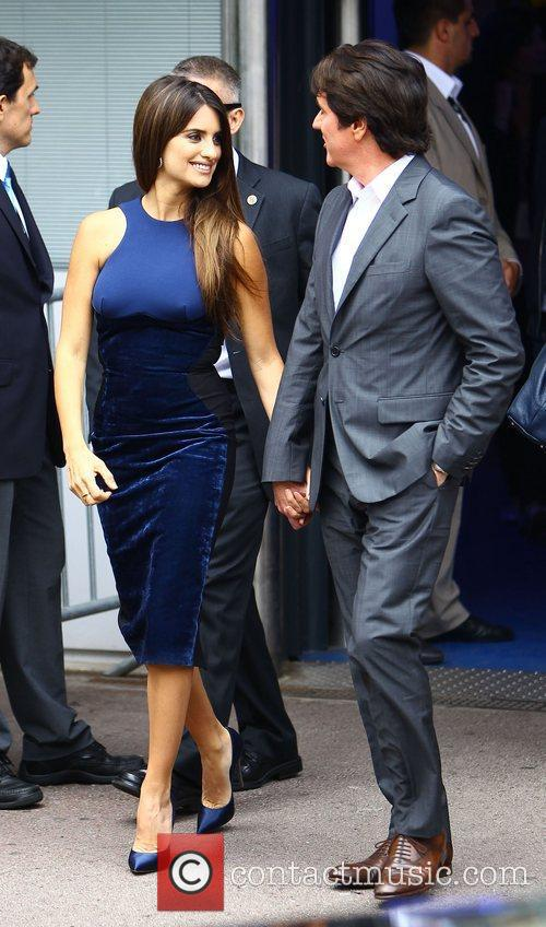 Penelope Cruz and Rob Marshall 2011 Cannes International...