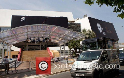 Preparations for the 2011 Cannes International Film Festival...