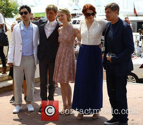 Henry Hopper, Bryce Dallas Howard, Gus Van Sant and Mia Wasikowska 5