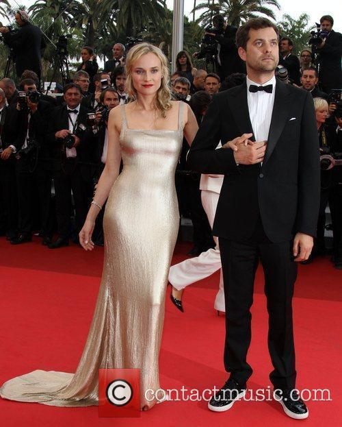 Diane Kruger and Joshua Jackson  2011 Cannes...