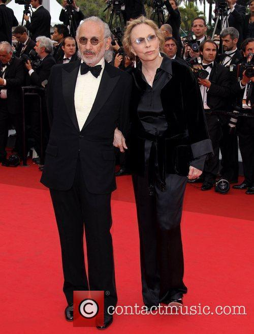 Faye Dunaway and Jerry Schatzberg 2011 Cannes International...
