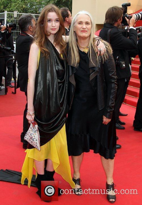 Alice Englert and Jane Campion 2011 Cannes International...