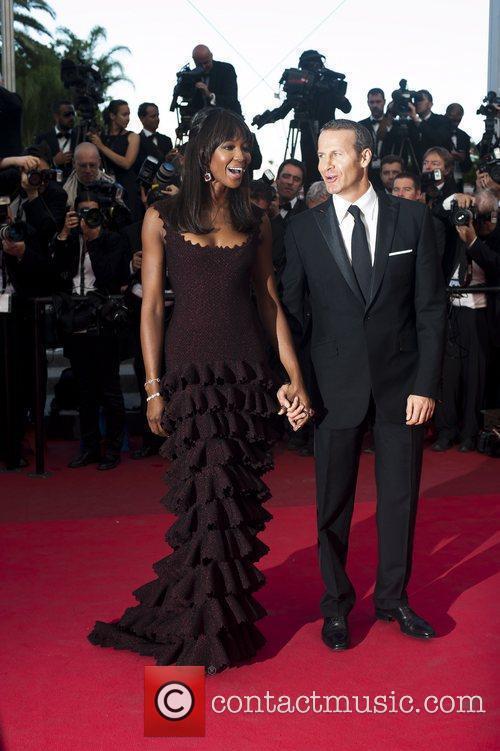 Vladimir Doronin; Naomi Campbell  2011 Cannes International...