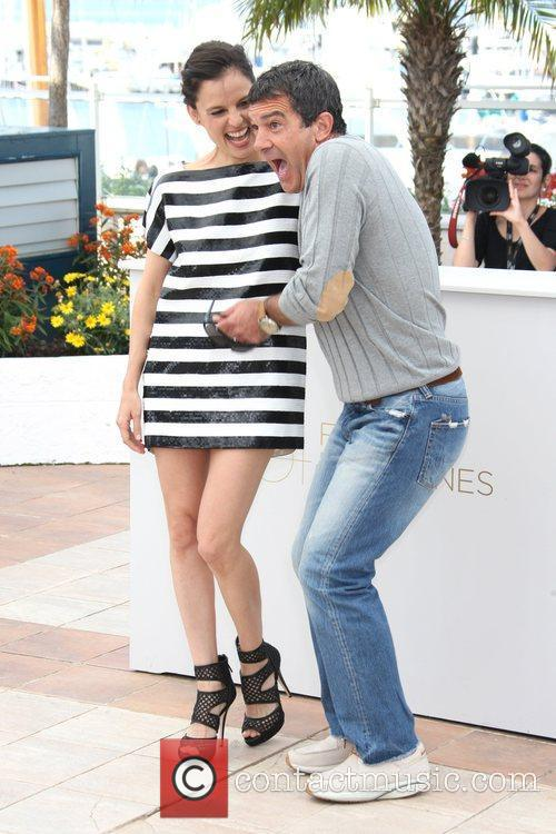 Antonio Banderas and Elena Anaya 2011 Cannes International...