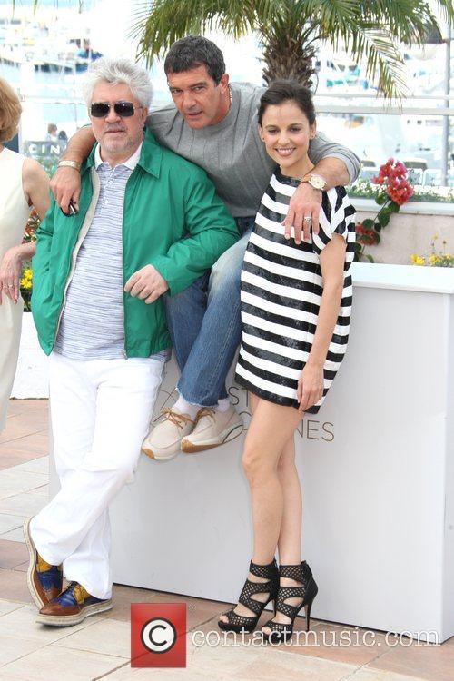 Antonio Banderas, Pedro Almodovar and Elena Anaya 2011...