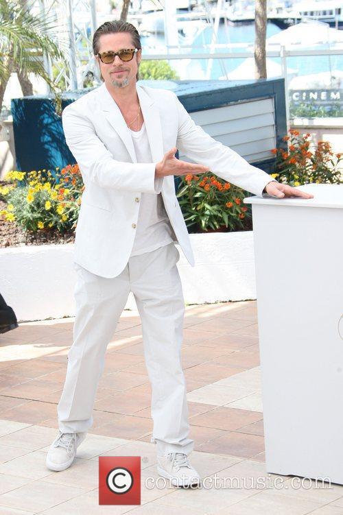 Brad Pitt 2011 Cannes International Film Festival -...