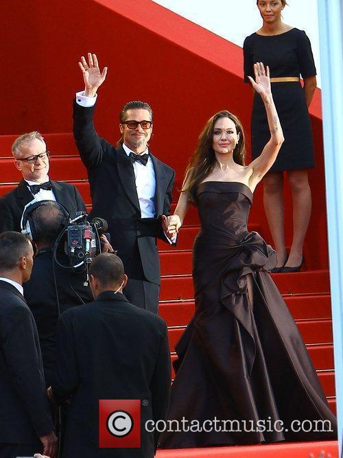 Angelina Jolie, Brad Pitt  2011 Cannes International...