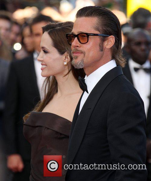 Angelina Jolie and Brad Pitt 2011 Cannes International...