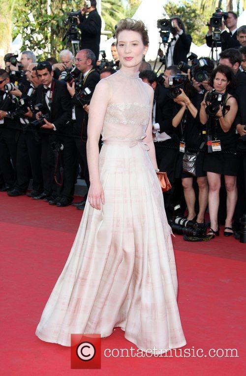 Mia Wasikowska 2011 Cannes International Film Festival -...