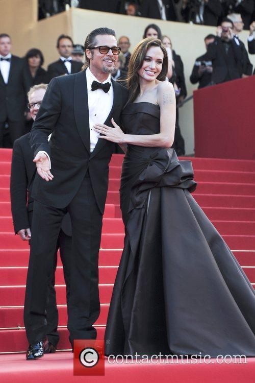Brad Pitt, Angelina Jolie 2011 Cannes International Film...
