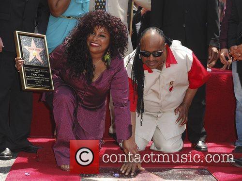 Stevie Wonder and Chaka Khan 2