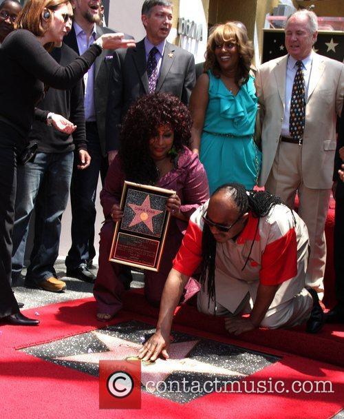 Stevie Wonder and Chaka Khan 4